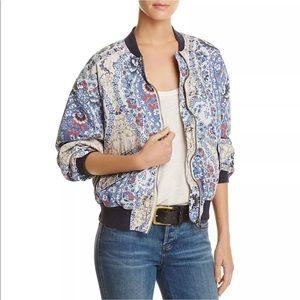 Free People Zip Bomber Style Jacket